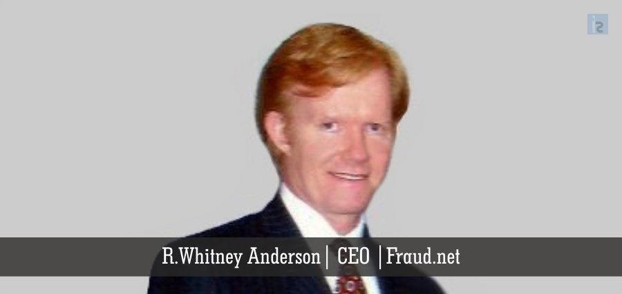 R. Whitney Anderson | CEO | Fraud.net | Insights Success