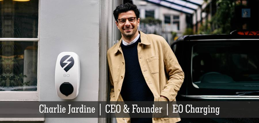 Charlie Jardine | CEO & Founder | EO Charging | Insights Success