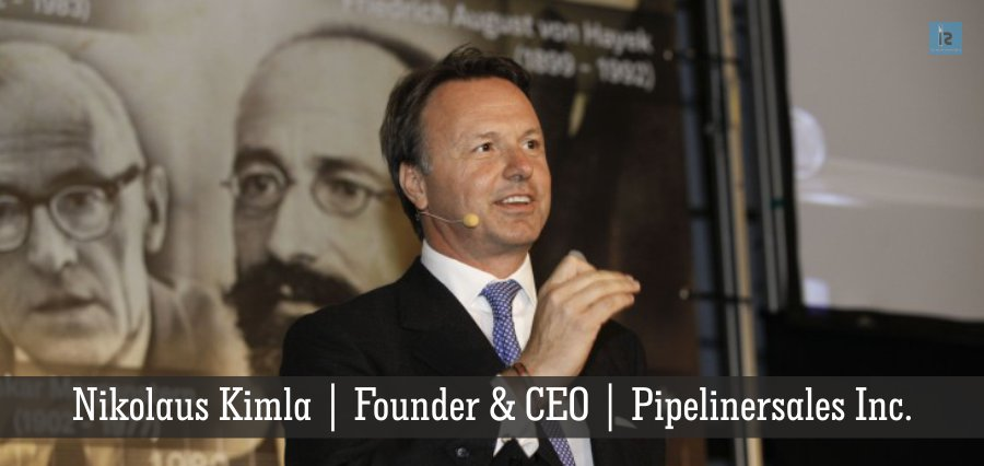 Nikolaus Kimla | Founder | CEO | Pipelinersales Inc. - Insights Success