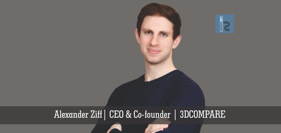 Alexander Ziff CEO & Co-Founder 3DCOMPARE