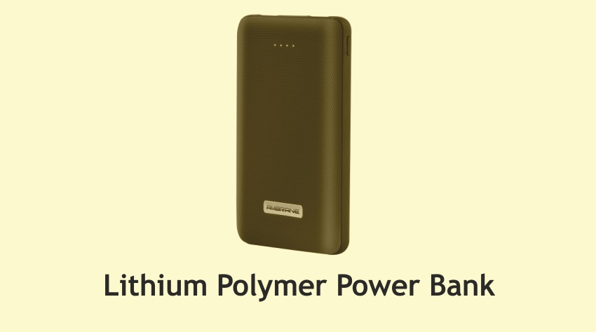 Lithium Polymer Power Bank | Insights Success