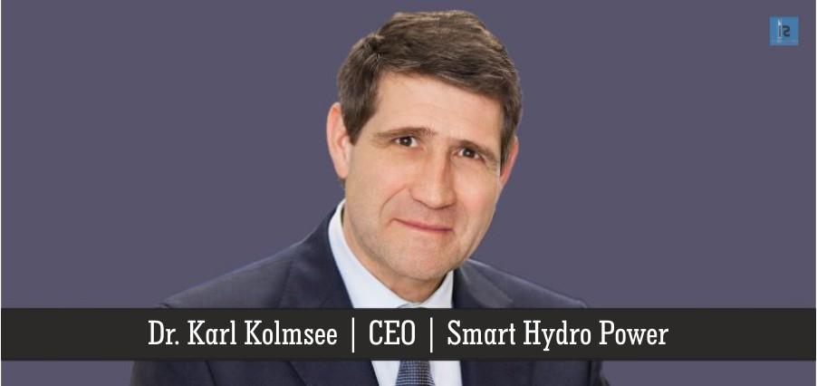 Karl Kolmsee | CEO | Smart Hydro Power