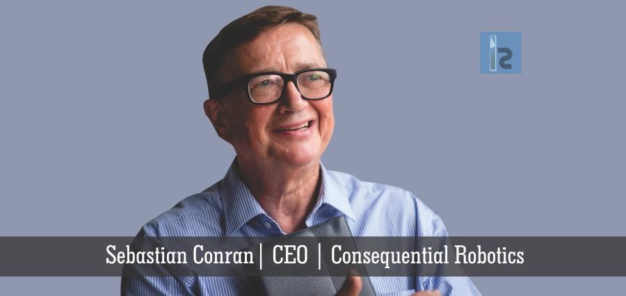 Sebastian Conran | CEO | Consequential Robotics