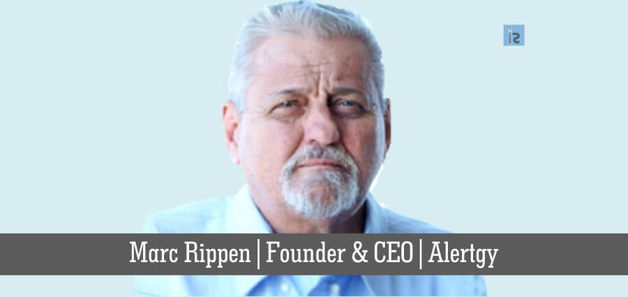 Marc Rippen | Founder & CEO | Alertgy | online business magazine