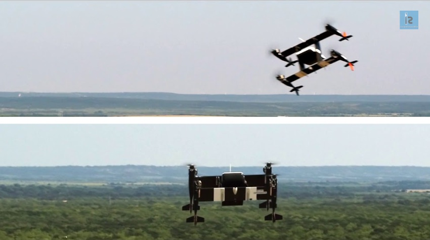 Aircraft Manufacturing Giant Tests its eVTOL Autonomous Aircraft