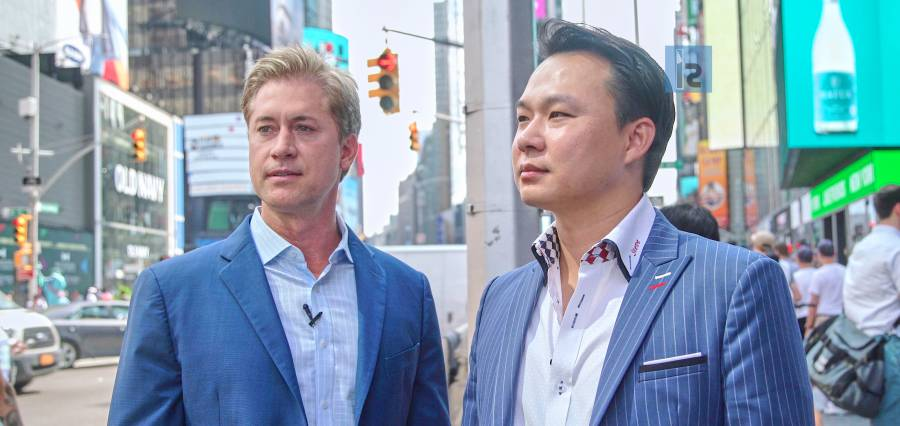 Eric Tippetts and Steven Chiang | Co-founders | NASGO | Insights Success