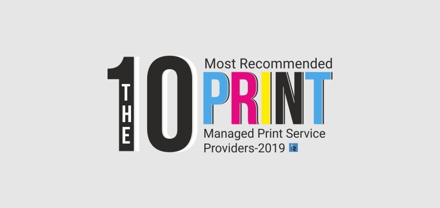 The 10 Most Recommended Managed Print Service Providers-2019