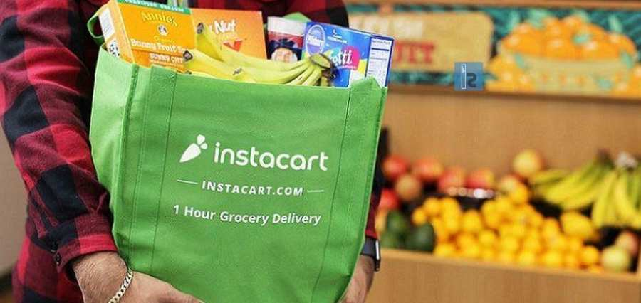 Instacart manufactures in house sanitizers for shoppers.