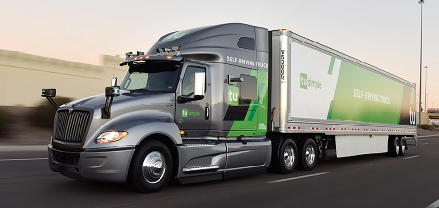 Self-Driving Truck Startup, TuSimple Partners with Automotive Supplier, ZF