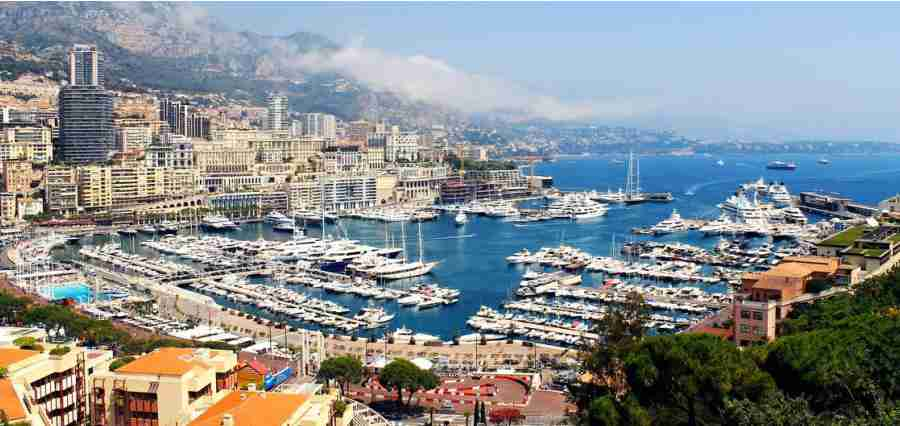 Aaron was amazed by the sight of the casinos in Monte Carlo.