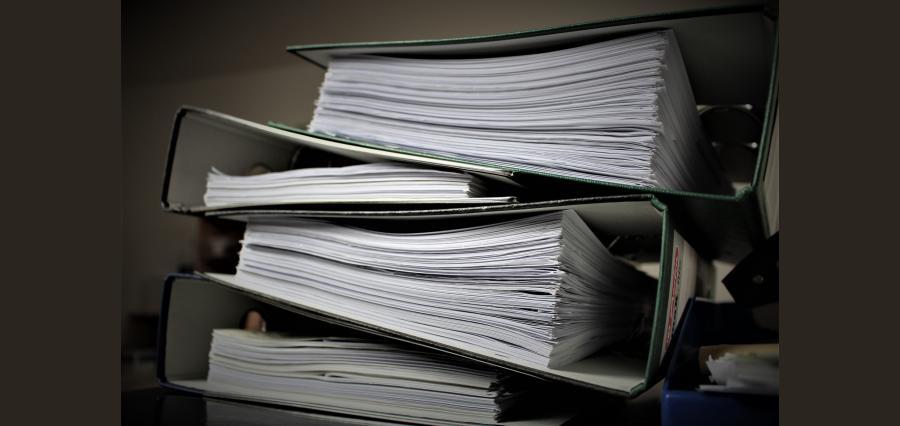 Keep Financial Documents